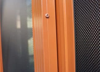 Custom Stainless Mesh Security Enclosure Using Mixture Of Fixed And Sliding Door Sections (2)