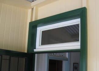 Walker Secure View Door Header