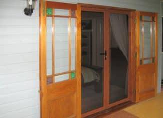 Walker Secure Woodgrain Double Door