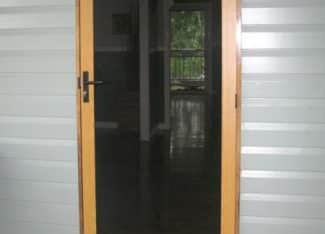 Walker Secure Woodgrain Single Door