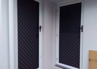 Diamond Grille Security Screen Brisbane
