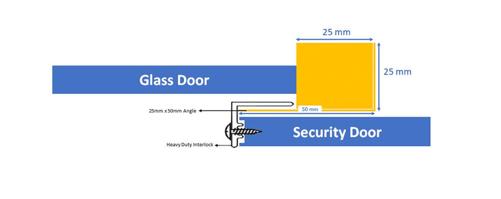 How To Measure And Install Security Door For An Al Ox Sliding Door 3