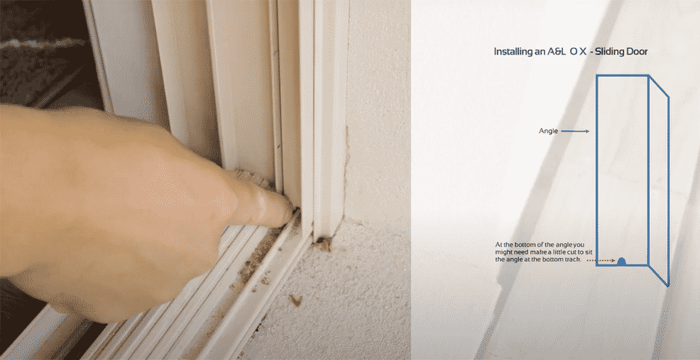 How To Measure And Install Security Door For An Al Ox Sliding Door 4 2