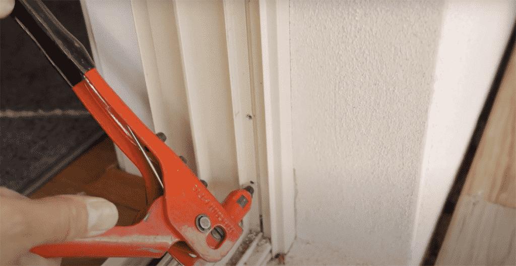 How To Measure And Install Security Door For An Al Ox Sliding Door 5